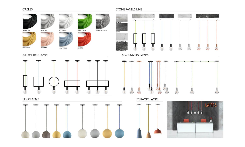 Components Lamps Spazio Mobili
