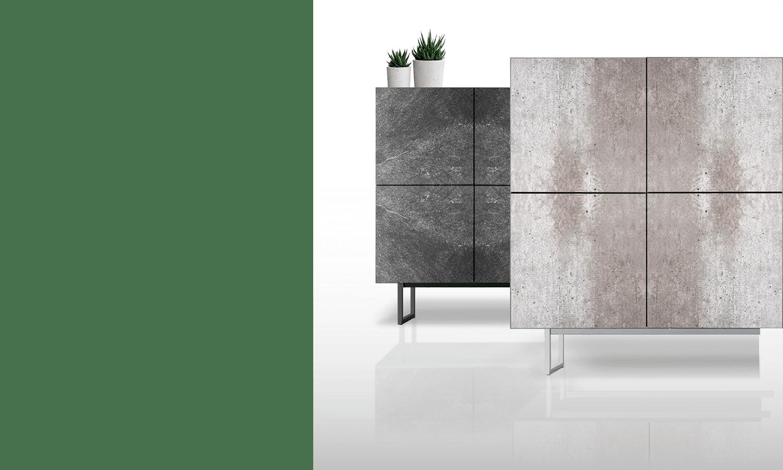 Four Times - Consolas decorativas- Línea de Spazio Mobili