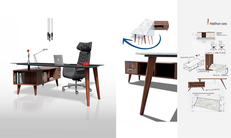 Athor Ceo W Office linea/productos de Oficina