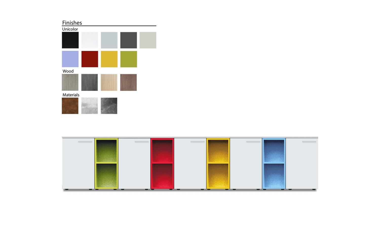 estantes para oficina personalizados