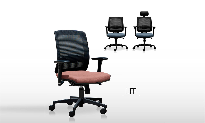Sillas de escritorio LIFE