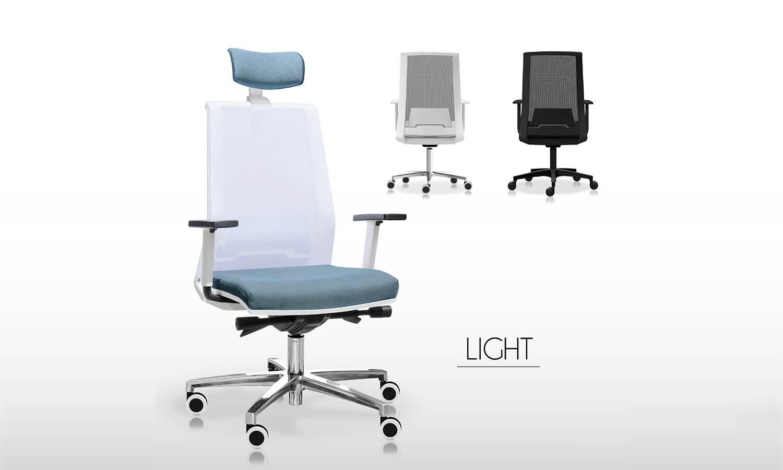 Chairs Office - Linea Light - Spazio Mobili