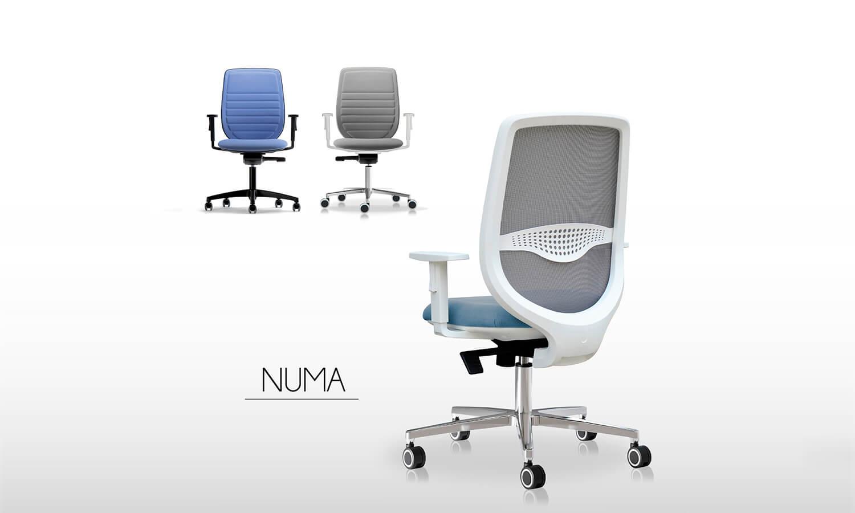 Sillas de escritorio - Linea Numa - Spazio Mobili