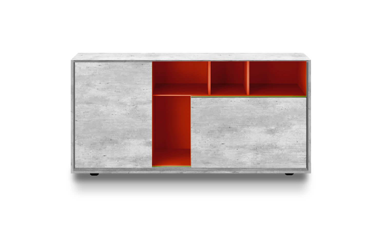 Rainbow - Consolas decorativas- Línea de Spazio Mobili