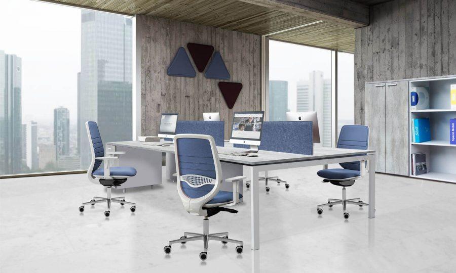Multiplex Cubik Office Spazio Mobili